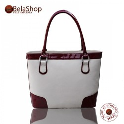 GEANTA MC18 Marsala Shiny/Cream